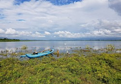The lake in Uda Walawe national park