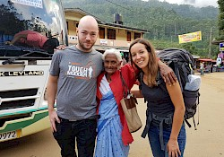 With Miss Brenda, who did Adam's peak 91 times