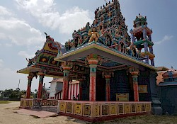 Colorful hindu temple. Well, like all of them
