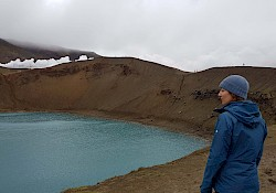 Víti crater, totally worth the muddy shoes
