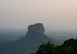 Lion rock from Pidurungala
