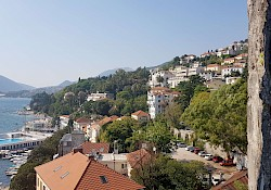 Herceg Novi, our first destination in Montenegro.