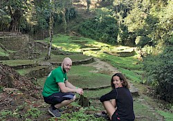 First stop in Ciudad Perdida for us