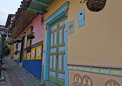 Colorful streets in Guatapé